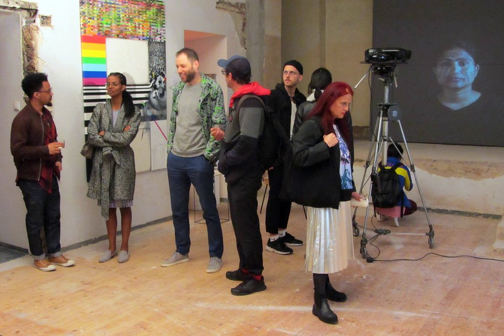 Translocal Scores: curator's guided tours and artist talks